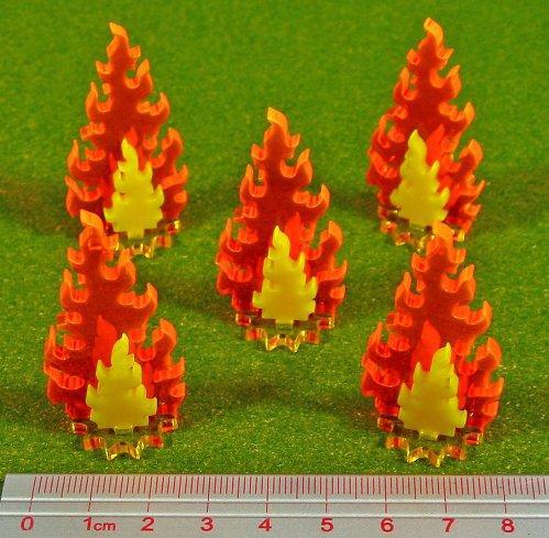 Miniature Tokens: Inferno Markers, Medium Set