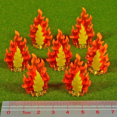 Miniature Tokens: Inferno Markers, Small Set