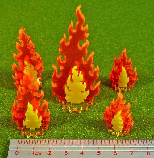 Miniature Tokens: Inferno Markers, Variety Set