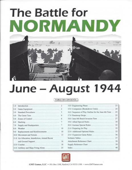 Battle for Normandy Expansion
