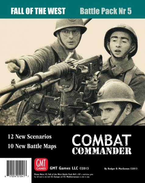 Combat Commander - Battle Pack #5: Fall of the West