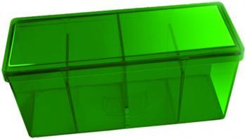 Green Four Compartment Storage Box