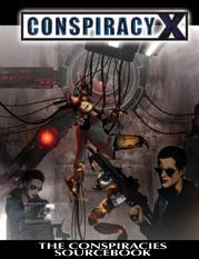 Conspiracy X 2.0 RPG: Conspiracies Sourcebook