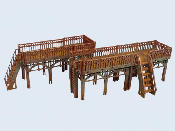 Wolsung Steampunk Game: XIX Century Walkway