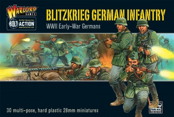 (German) Blitzkrieg! Infantry