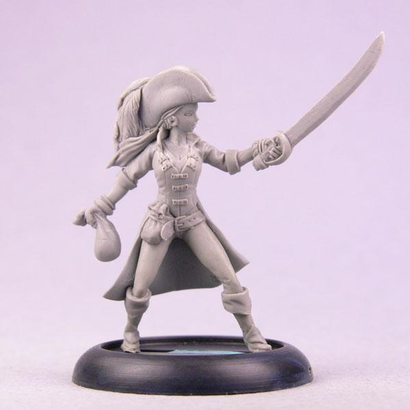 Bombshell Miniatures: Meagan the Buccaneer