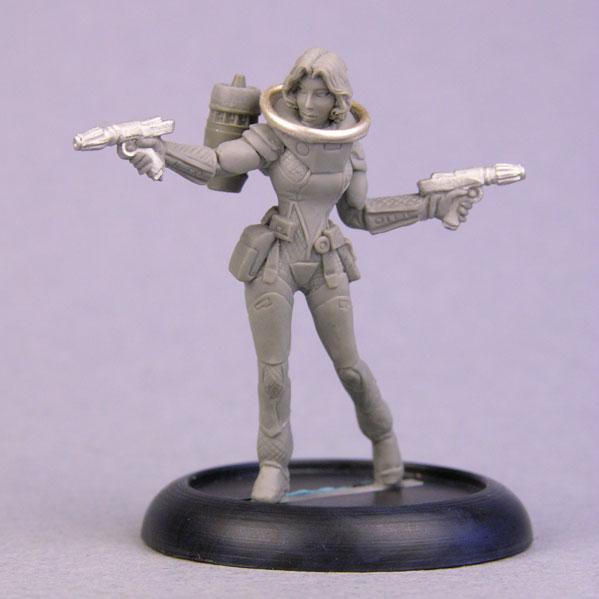 Bombshell Miniatures: Sally Starfield