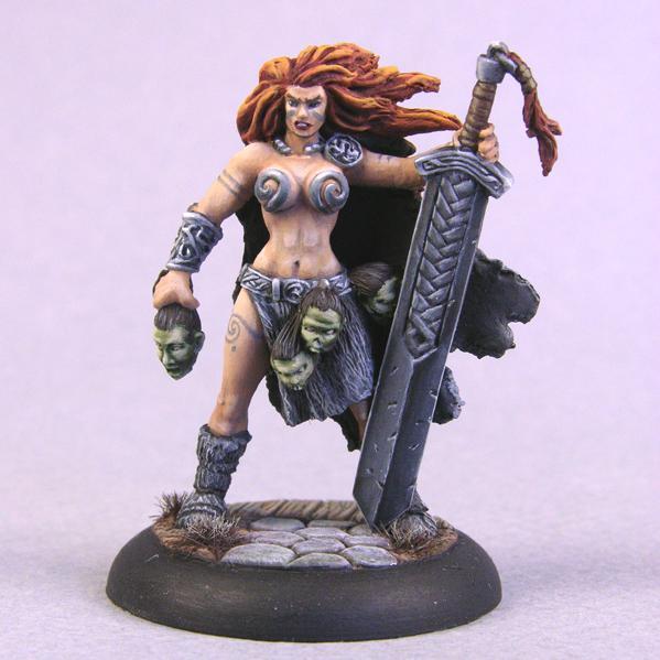 Bombshell Miniatures: Sword Maiden