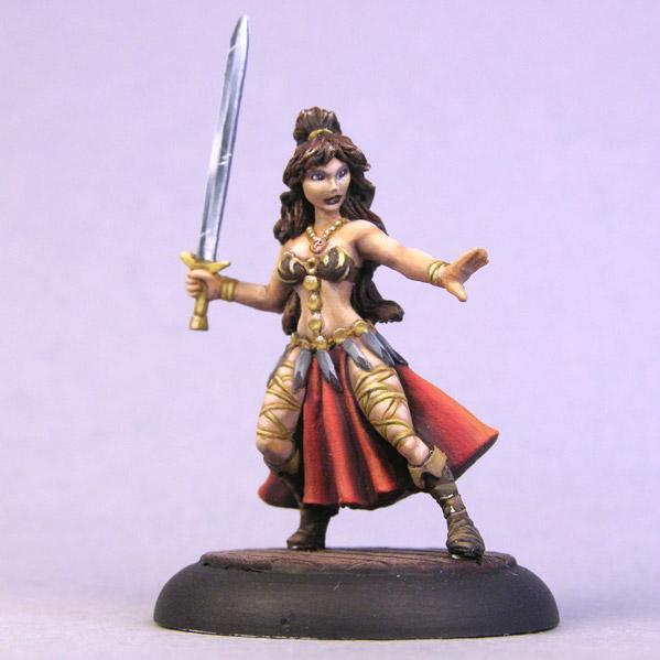 Bombshell Miniatures: The Girl