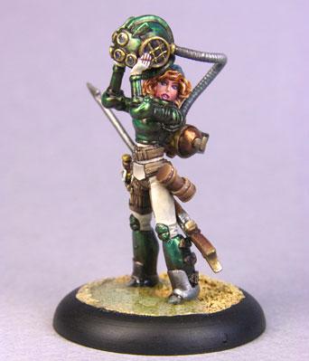 Bombshell Miniatures: Vivan Gale