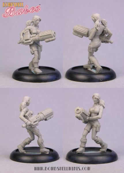 Bombshell Miniatures: Bug Spray