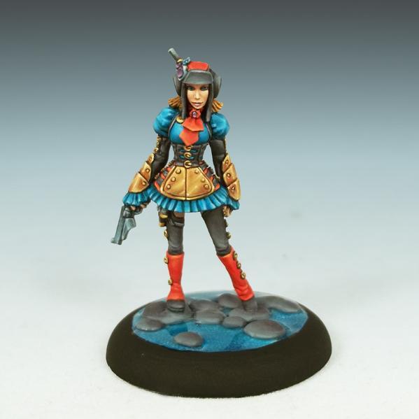 Bombshell Miniatures: Raven Skye