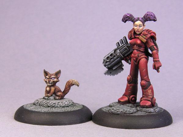 Bombshell Miniatures: Pussy Patrol