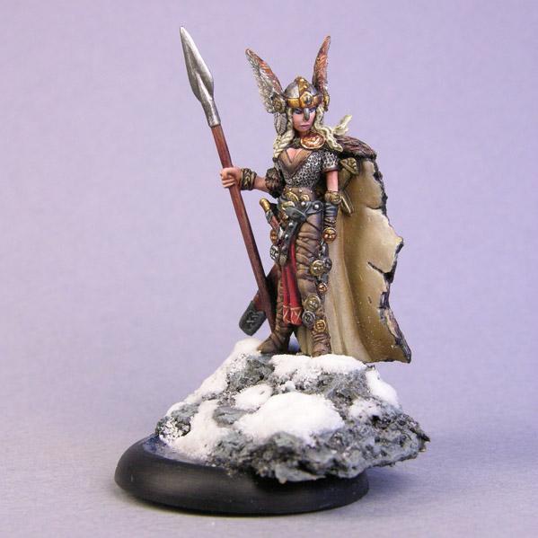Bombshell Miniatures: Geirah'd the Spear of Battle