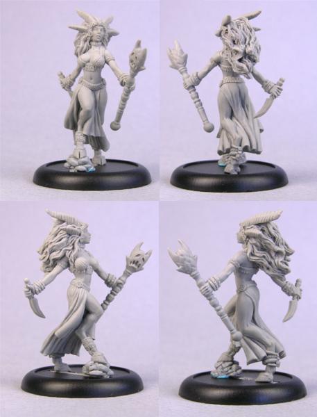 Bombshell Miniatures: Delzira Demon Princess