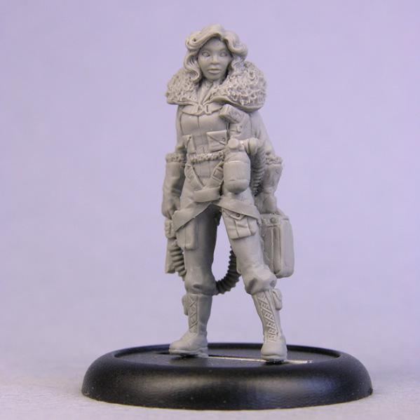 Bombshell Miniatures: Tillie Fighter Pilot
