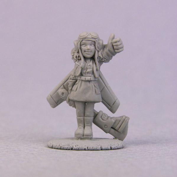 Bombshell Miniatures: Sidekicks - Flakk