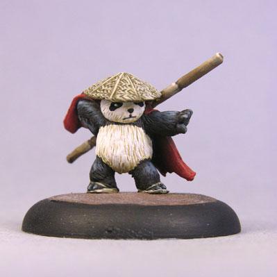 Bombshell Miniatures: Sidekicks - Ping Panda