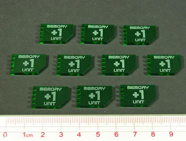 Net Hacker, Memory Unit Tokens (10)