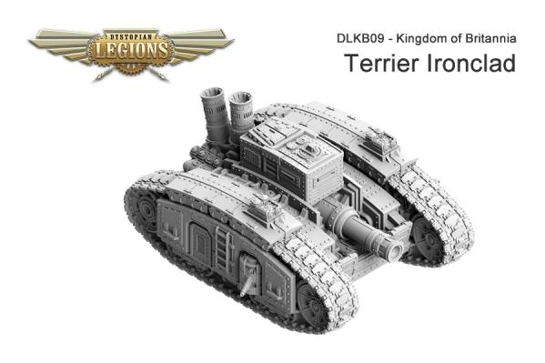(Kingdom Of Britannia) Terrier Ironclad
