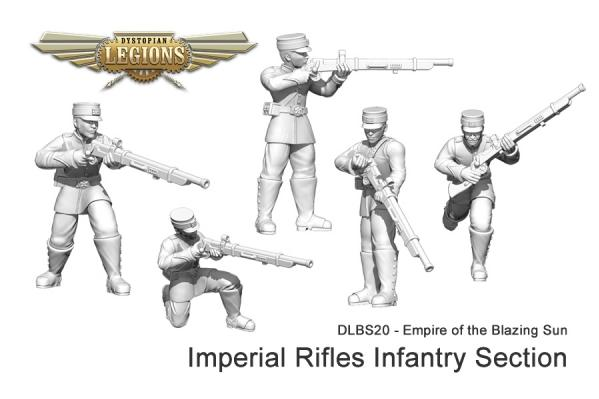 (Empire Of The Blazing Sun) Imperial Rifles Infantry Section