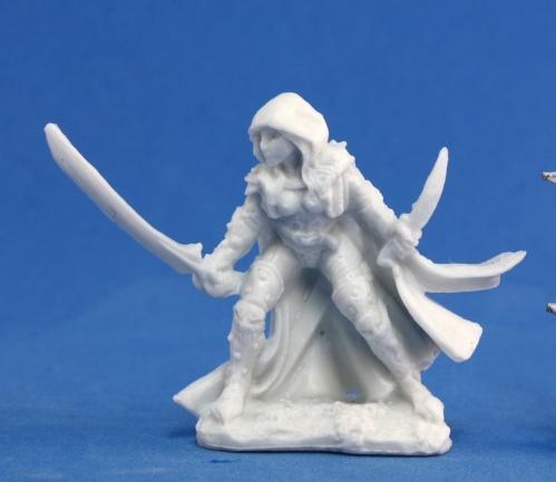 Dark Heaven Bones: Deladrin, Female Assassin