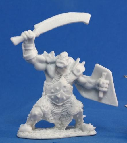 Dark Heaven Bones: Orc Marauder w/Sword & Shield