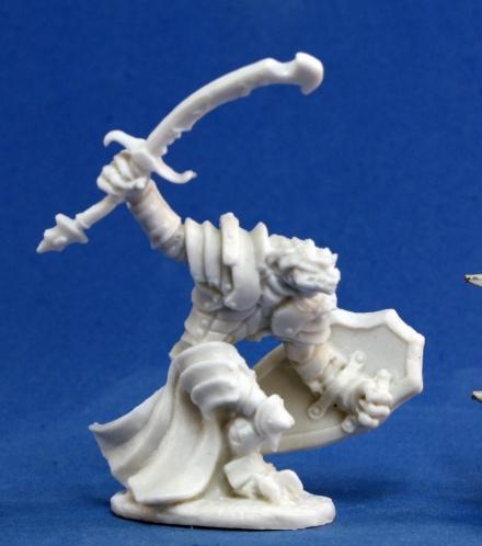 Dark Heaven Bones: Dragonman Warrior