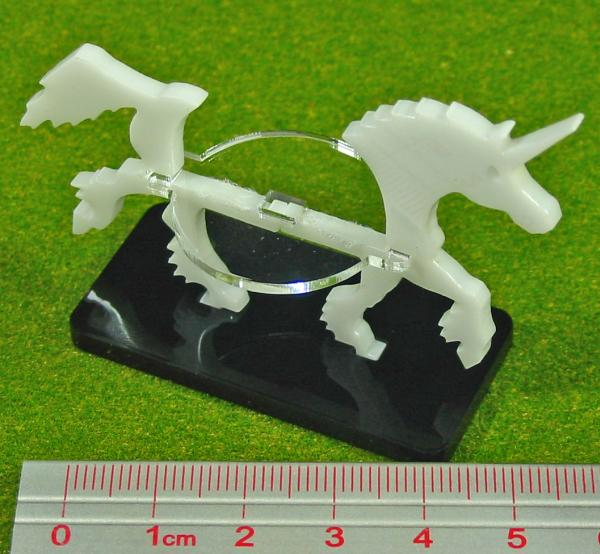 Miniature Tokens: Unicorn, Character Mount Marker, White (1)