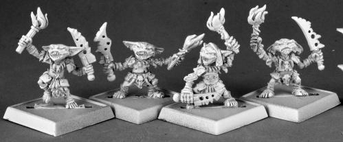 Pathfinder Bones: Goblin Pyros (4)