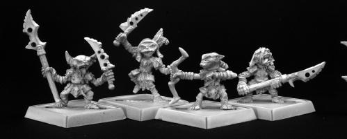 Pathfinder Bones: Goblin Warriors (4)