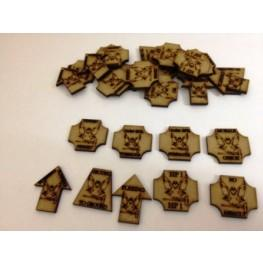 Bandua Accessories: Infantry Sci-Fi Tokens