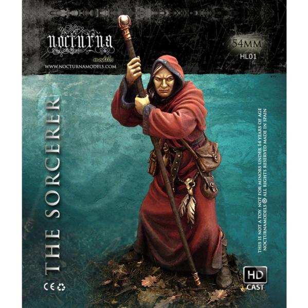 54mm Heroes and Legends: The Sorcerer