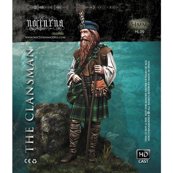 54mm Heroes and Legends: The Old Clansman