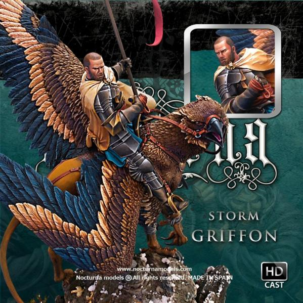 54mm Heroes and Legends: Storm Griffon