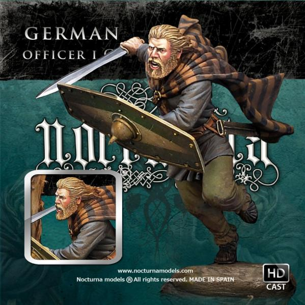 70mm Ancient Historical: German Officer I C