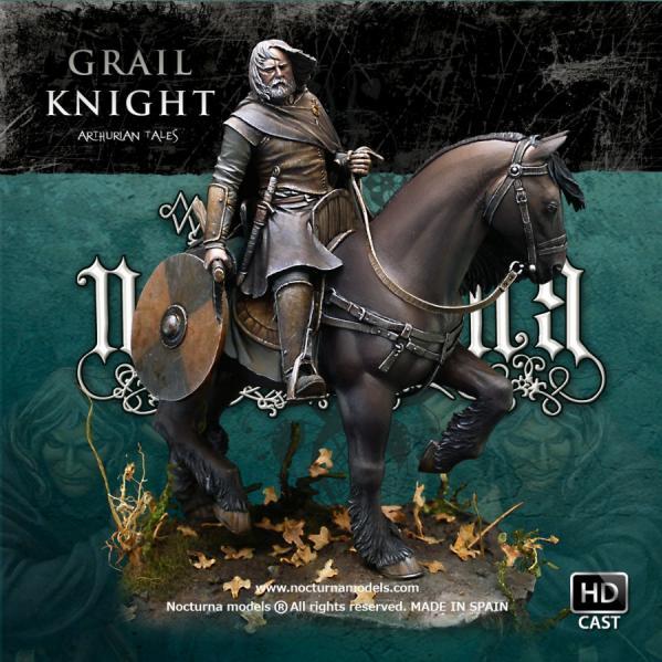 54mm Arthurian Tales: Grail Knight