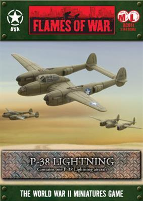 Flames Of War (WWII): (USA) P-38 Lightning