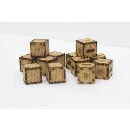 Bandua Accessories: Chemical and Wooden Containers (12)