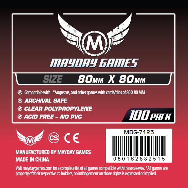 Red Label: Card Sleeves (100) 80mmx80mm