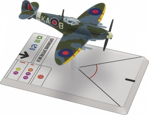 Wings Of Glory WWII Series III Miniatures: Spitfire Mk.IX (Beurling)