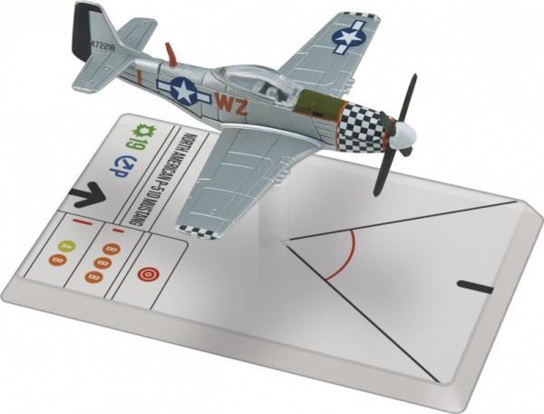 Wings Of Glory WWII Series III Miniatures: P-51D Mustang (Landers)