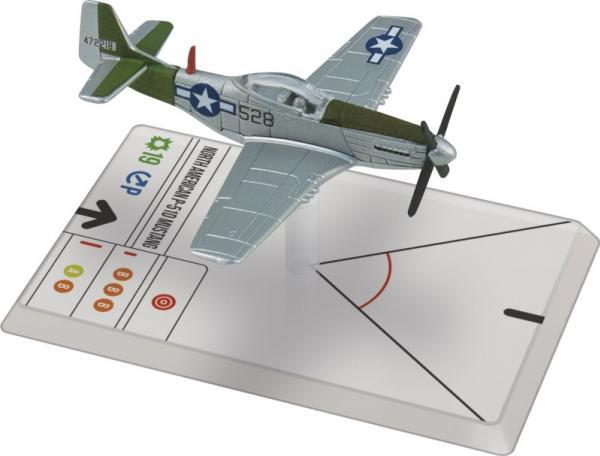 Wings Of Glory WWII Series III Miniatures: P-51D Mustang (Saks)