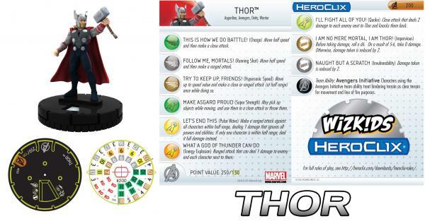 Marvel Heroclix: Thor - The Dark World Movie Single Blind Figure (1)