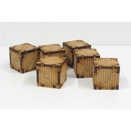 Bandua Accessories: Small Wooden Containers (6)