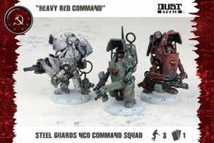 Dust Tactics - SSU: Steel Guard Nco Command Squad