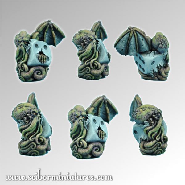 28mm Fantasy Miniatures: Cthulhu Die #2