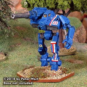 BattleTech Miniatures: Dark Age Hollander III Mech (TRO 3145)