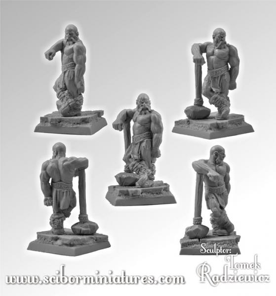 28mm Fantasy Miniatures: Barbarian #2