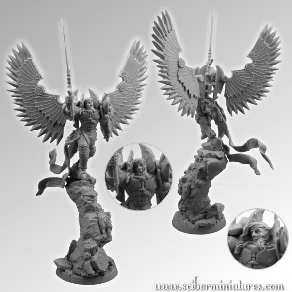 28mm Fantasy Miniatures: Archangel #2